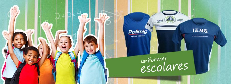 f42cafb59a Camisetas Promocionais · Camisas Pólo · Moletons · Uniformes Escolares ...