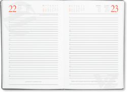 Miolo diário - Agenda Personalizada