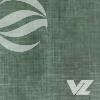 Capa almofadada telado verde - Agenda Personalizada