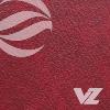 Capa almofadada vermelho- Agenda Personalizada