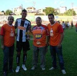 100 anos de Divinópolis comemorados no Campeonato Mineiro
