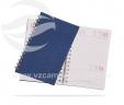 Agenda diária espiral (wire-o) VRB1484jc