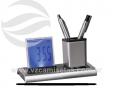 Porta canetas com relógio de cristal líquido VRB17