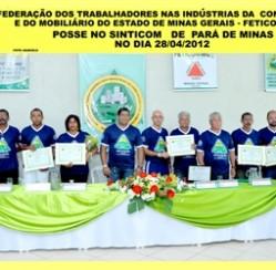 Camisetas promocionais da VZ na posse do FETICOM MG em Pará de Minas