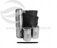 Estojo garrafa térmica e 2 canecas VRB900-4