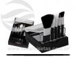 Kit pincéis de maquiagem transp. VRB1254q