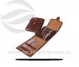 Kit manicure com 8 peças carteira VRB152m