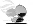 Espelho redondo de metal VRB153r