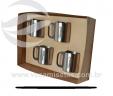 Kit 4 canecas VRB907-4