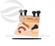 Kit queijo 5 peças VRB5032-6