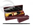 Caixa para vinho em madeira VRB9918-7
