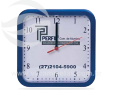 Relógio de parede quadrado VRB1568