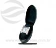 Relógio de pulso quadrado pulseira couro sintético VRB1557