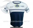 Camisa de Uso Diário com Recorte e SilkScreen UNF02VZ