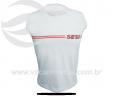 Camisa para Física Estampada em Silk UNF04VZ