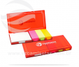 Kit com bloco de anotações e post it VRB1485