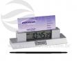 Relógio de mesa com porta cartão VRB1597